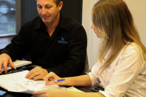 buyers agent in brisbane at work