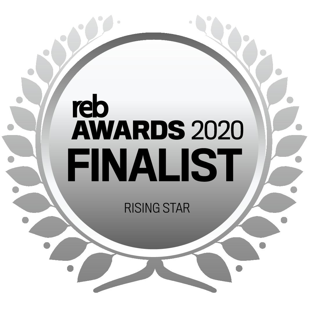 REB Awards 2020 Rising Star