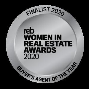 Award Finalist REB Women in Real Estate Awards 2020
